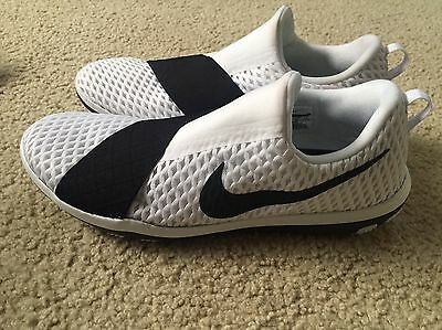 91eaeb0c82f3 NIKE FREE CONNECT Womens Training Shoes Black   White Women s Size ...