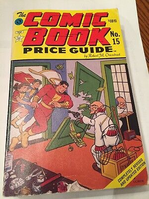 Overstreet Price Guide Volume 15 1985/86