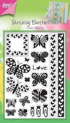 Crafts 6410//0346 New ZENTANGLE BIRD Stamp Clear Unmounted Rubber Stamp Joy
