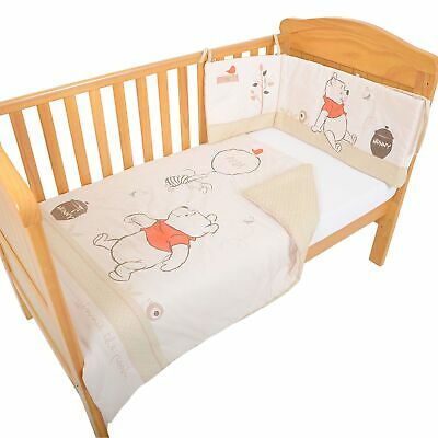 Silvercloud Baby / Child  Winnie The Pooh 2 Piece Bedding Set - Quilt And Bumper