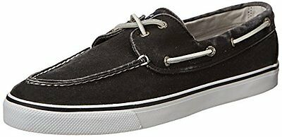 Sperry Top-Sider Womens Bahama Slip-On Loafer,Black,5 M US