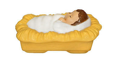 "**NEW** Hand Selected Baby Jesus Blow Mold 14"" x 10"" Nativity Christmas Blowmold"