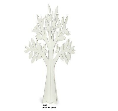 Albero Decorativo In Cartone Cm 120 Made In Italy Tableau Mariage E Vetrine