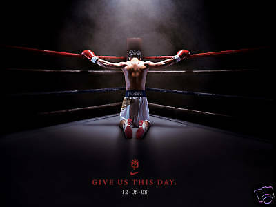 "Manny Pacquiao  ""give Us This Day"" Boxing Poster"