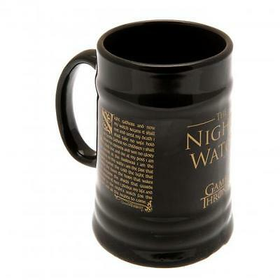 Official Licensed Product Game Of Thrones Stein Mug Nights Watch Gift Box New