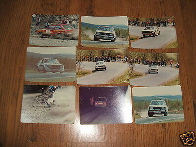 Talbot Sunbeam,Talbot Avenger rally car photographs - Chrysler;21 amateur photos