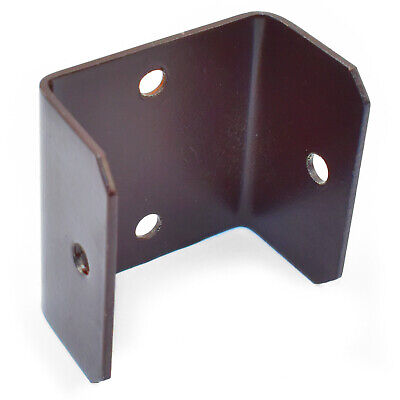 PACK OF 20 - 33mm WOODEN FENCE & TRELLIS CLIPS BRACKET PANEL FIXING GARDEN POST