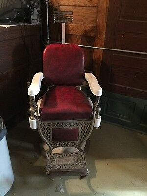1920's Theo A. Kochs Barber Chair