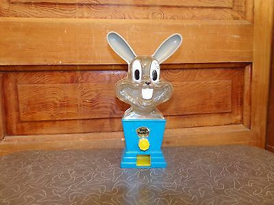 RARE Old Vintage Bugs Bunny Gumball Machine Tarco Toy Sidney Tarrson Co Chicago