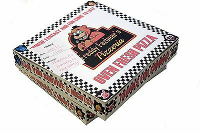 """Five Nights at Freddy's Personalized 12"""" Pizza Box"""