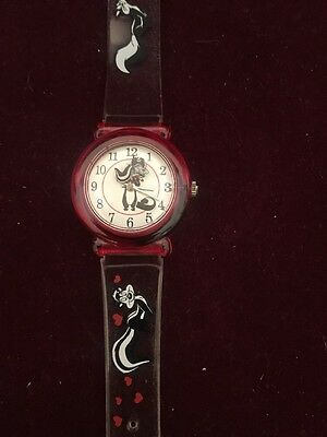 Pepe Le Pew Woman's Watch Warner Bros Limited Ed. Made in Japan ©1997 Collector