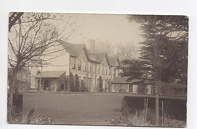 RP Postcard Three Gables Large Country House Garden Unknown Location Where ?
