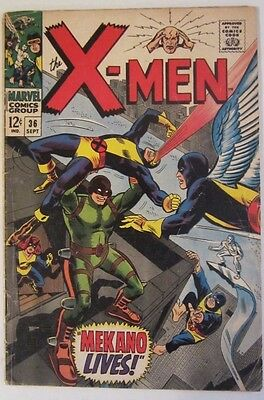 The X-Men #36 (Sep 1967, Marvel) Vg/FN