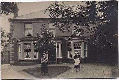 RP Large Edwardian Bay Window House With Owner & Maid Unknown Location Where ?