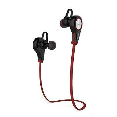 iPhone Android In-Ear Bluetooth Wireless Earbuds Headset Earphones - Black