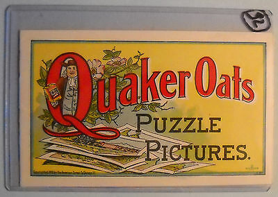Quaker Oats Puzzle Pictures  (1900, American Cereal Co) promotional booklet