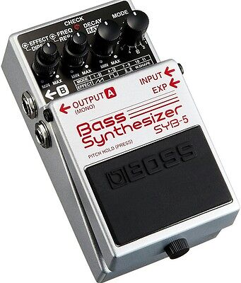 New Boss SYB-5 Bass Synthesizer Pedal
