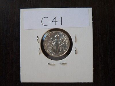 VINTAGE USA 1947 10 CENT SILVER Roosevelt VERY  HIGH QUALITY     C41