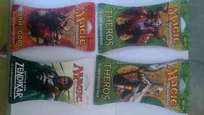 LOT OF 4 FACTORY SEALED 15-card booster packs  Magic the Gathering