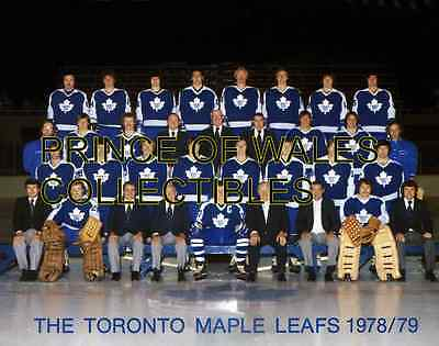 1979 Toronto Maple Leafs Team Photo 8X10