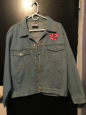 Vintage All You I Love Lucy Embroidered Denim Jean Jacket Size Large