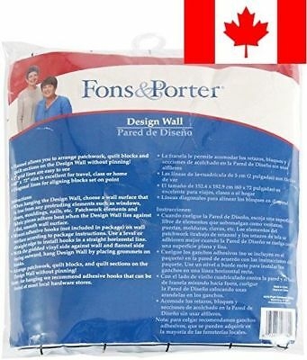 Dritz Fons and Porter 60-Inch by 72-Inch Design Wall