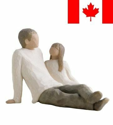 Demdaco DD26031 Willow Tree Father and Daughter Figurine