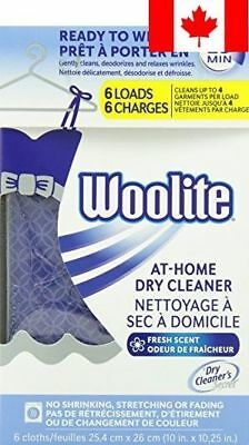Woolite C-Dcs04N Dry Cleaner's Secret (6 Uses), Home Dry Cleaner for Fine Fab...