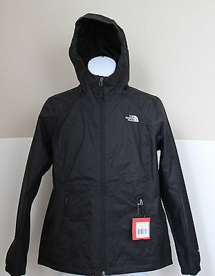 The North Face Women's Boreal Hooded Rain Jacket DryVent Black Size M,L,XL