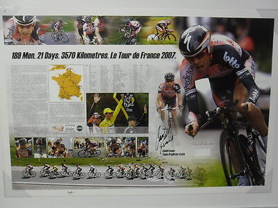 Cadel Evans A Piece Of The Action Signed Limited Edition Unframed 100/250