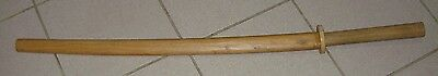 "One (1) - AWMA Daito 40"" Wood Bokken with Wood Scabbard **USED**"