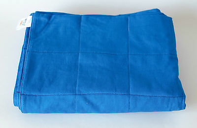 Blue Weighted Therapy Blanket- CE Certified, All Sizes, Free Postage