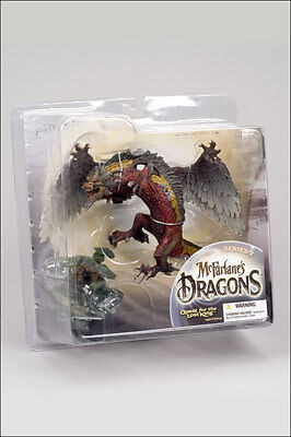 "McFarlane Dragons Series 2: Fire Dragon Clan 6"" Figure"