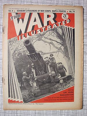 The War Illustrated # 74 (Tobruk, Abyssinia, Greece, Albania, German PoW Camps)