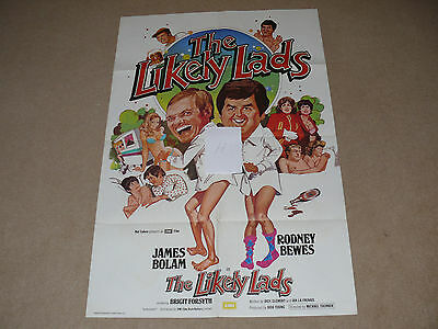 Original THE LIKELY LADS 1 Sheet Film Poster (H) - Rodney Bewes & James Bolam