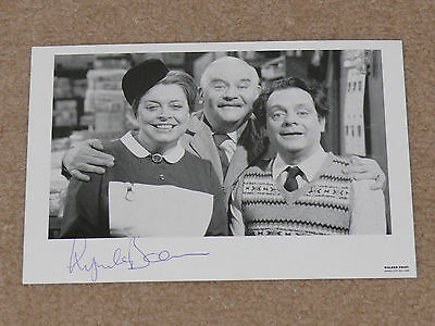 Original LYNDA BARON Signed OPEN ALL HOURS TV Photograph with Ronnie Barker