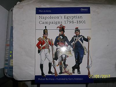 Napoleon's Egyptian Campaigns 1798-1801, Osprey, Men At Arms 79
