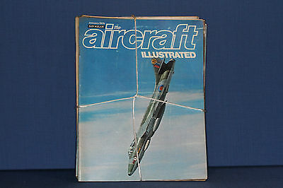 Aircraft Illustrated by Ian Allen 1975 all 12 issues with free postage