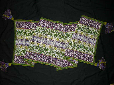 KNITTING KIT to make THISTLE WRAP/STOLE/LARGE SCARF by MARY SCOTT HUFF