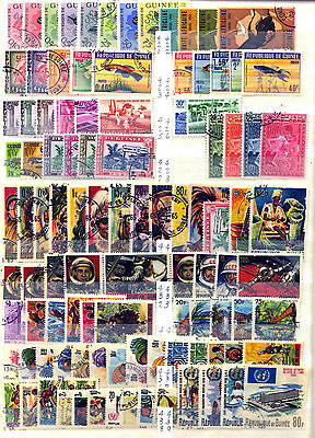 Republic Of Guinea 1963 – 1967 ***** 102 Stamps ***** 1 Mint