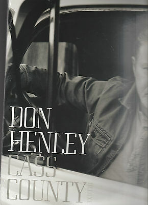 Don Henley-Cass County-Deluxe Edition-2 LP Vinyl Album-602547418098 NEW & SEALED
