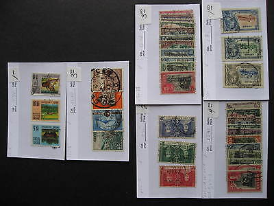 Sales cards full of CEYLON stamps (unverified), check them out!