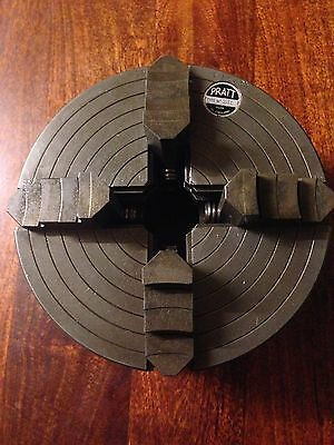 Colchester Student Master Lathe LO 4 JAW INDEPENDENT CHUCK PRATT 10""