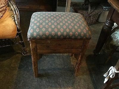 Old Piano Stool Chair Seat Vintage Antique