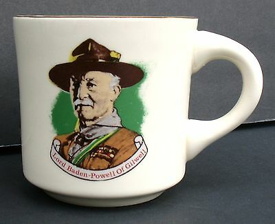 Boy Scouts Lord Baden-Powell Of Gilwell Mug Scouting Cub Cubs Scout