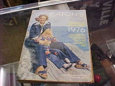 vintage eatons catalog spring and summer 1976