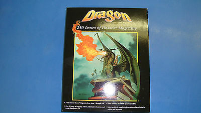 Dragon Magazine 250 issues on disk Near Mint Dungeons and Dragons