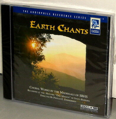 SHEFFIELD LAB CD 10049-2-F: Earth Chants - Choral Works, Madrigals - 1994 USA SS