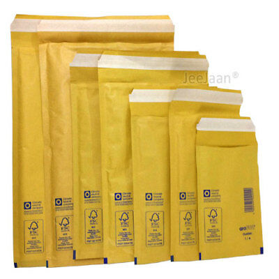 AROFOL GENUINE GOLD BUBBLE PADDED ENVELOPES MAILERS BAGS All Size 1 to 7