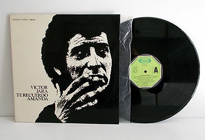 VICTOR JARA - Te recuerdo Amanda VG++ VG++ LP Movieplay 1706227/0 Spain 1974
